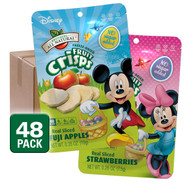 Freeze Dried Fruits Disney Easter Variety Fruit Crisps, 48 pack