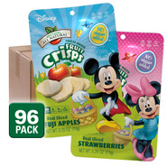 Freeze Dried Fruits Disney Easter Variety Fruit Crisps, 96 pack