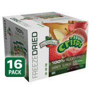 Freeze Dried Fruits Variety Fruit Crisps, 16 pack