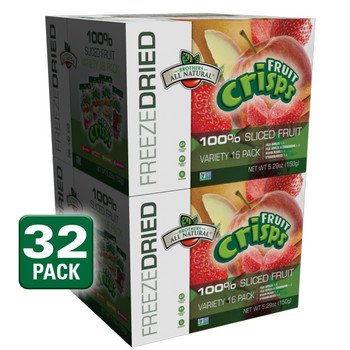 Freeze Dried Fruits Variety Fruit Crisps, 32 pack