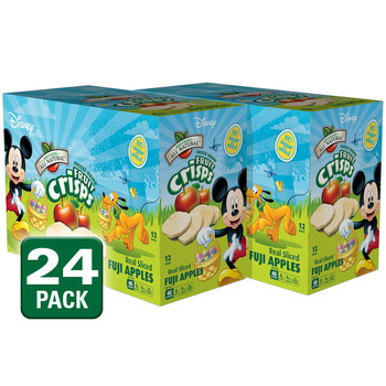 Mickey Mouse Easter freeze dried apple fruit crisps, 24pk