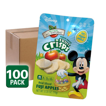 Easter Disney Mickey Mouse Freeze Dried Fruit Crisps, 100 pack