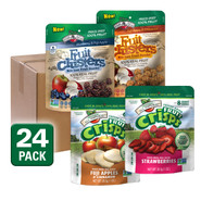 Choose your own freeze dried Fruit Crisps and Fruit Clusters, 24 pack