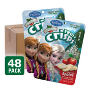 Disney Frozen Freeze Dried Fuji Apple Fruit Crisps, 48 pack