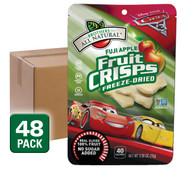 Disney Cars Fuji Apple Freeze Dried Fruit Crisps, 48 pack