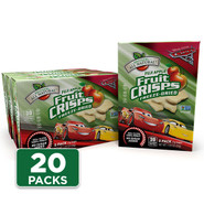 Disney Cars Fuji Apple Fruit Crisps 20-pack