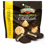 Dark Chocolate Freeze Dried Banana Fruit Crisps