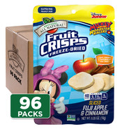 Disney Apple-Cinnamon Fruit Crisps 96-pack