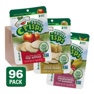 Variety Pack Fruit Crisps (3 Flavors), 1/2 c bags, 96-pack