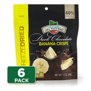 Dark Chocolate Freeze Dried Banana 6-Pack