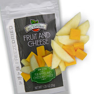 Freeze Dried Apples and Cheddar Cheese Snacks