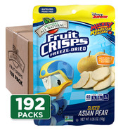 Disney Donald Duck Freeze Dried Asian Pears 192-pack