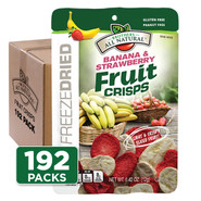 Strawberry-Banana Fruit Crisps 192-pack