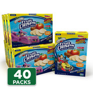 Disney Mixed Apple Fruit Crisps 40-pack