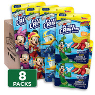 Disney Fruit Crisps Sampler 8-pack