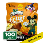 Disney Halloween Fruit Crisps ¼ cup, 100-pack