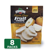 Asian Pear Freeze Dried Fruit Crisps 8 x 1 oz. Pouches