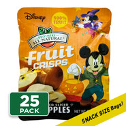Disney Halloween Fruit Crisps ¼ cup, 25-pack