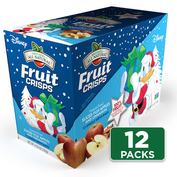 Disney Holiday Apple-Cinnamon Fruit Crisps 12-pack
