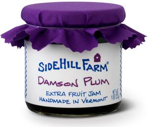 Homemade Damson Plum Jam from Sidehill Farm, Vermont Side hill