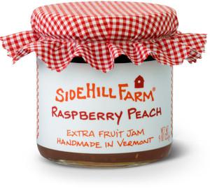 Homemade Raspberry Peach Jam from Sidehill Farm, Vermont