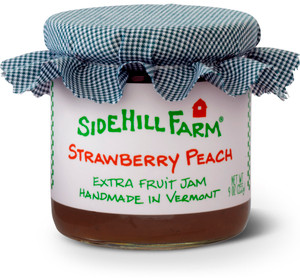 Homemade Strawberry Peach Jam by Sidehill Farm, Vermont
