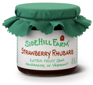 Homemade Strawberry Rhubarb Jam by Sidehill Farm, Vermont