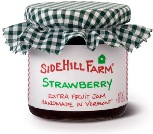 Homemade Strawberry Jam by Sidehill Farm, Vermont