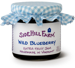 Homemade Wild Blueberry  Jam by Sidehill Farm, Vermont