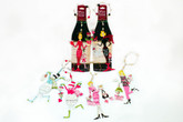 Wine Bottle/Tree Ornament - Single Gal