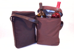 two bolle cooler insulated tote