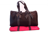 Quilted Duffel Bag
