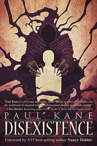 Disexistence by Paul Kane (front cover)