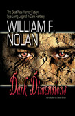 SIGNED - Dark Dimensions by William F. Nolan (OUT OF PRINT)