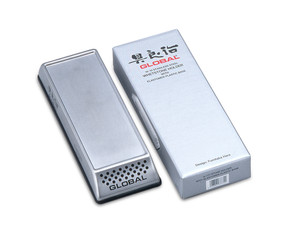 Global G-777, Stainless Steel Whetstone Holder