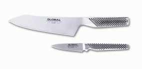 G-4 Plus, 7 Inch Oriental Chef's Knife and GSF-46, 3 Inch Paring Knife Packaged Separately