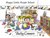 Friendly Folks Personalized Day Care Cartoon Print