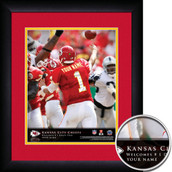 Personalized NFL QB Action Hero Sports Prints