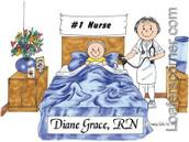 Friendly Folks Nurse Female with child
