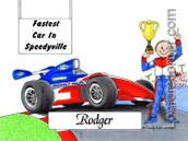 Friendly Folks Indy Car Male
