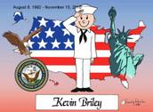Friendly Folks US Navy Personalized Print