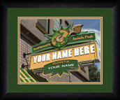 Personalized Irish Pub Wall Art
