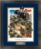 US Army Plaque Framed Print