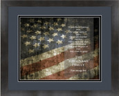 Patriot Personalized Flag 13x16