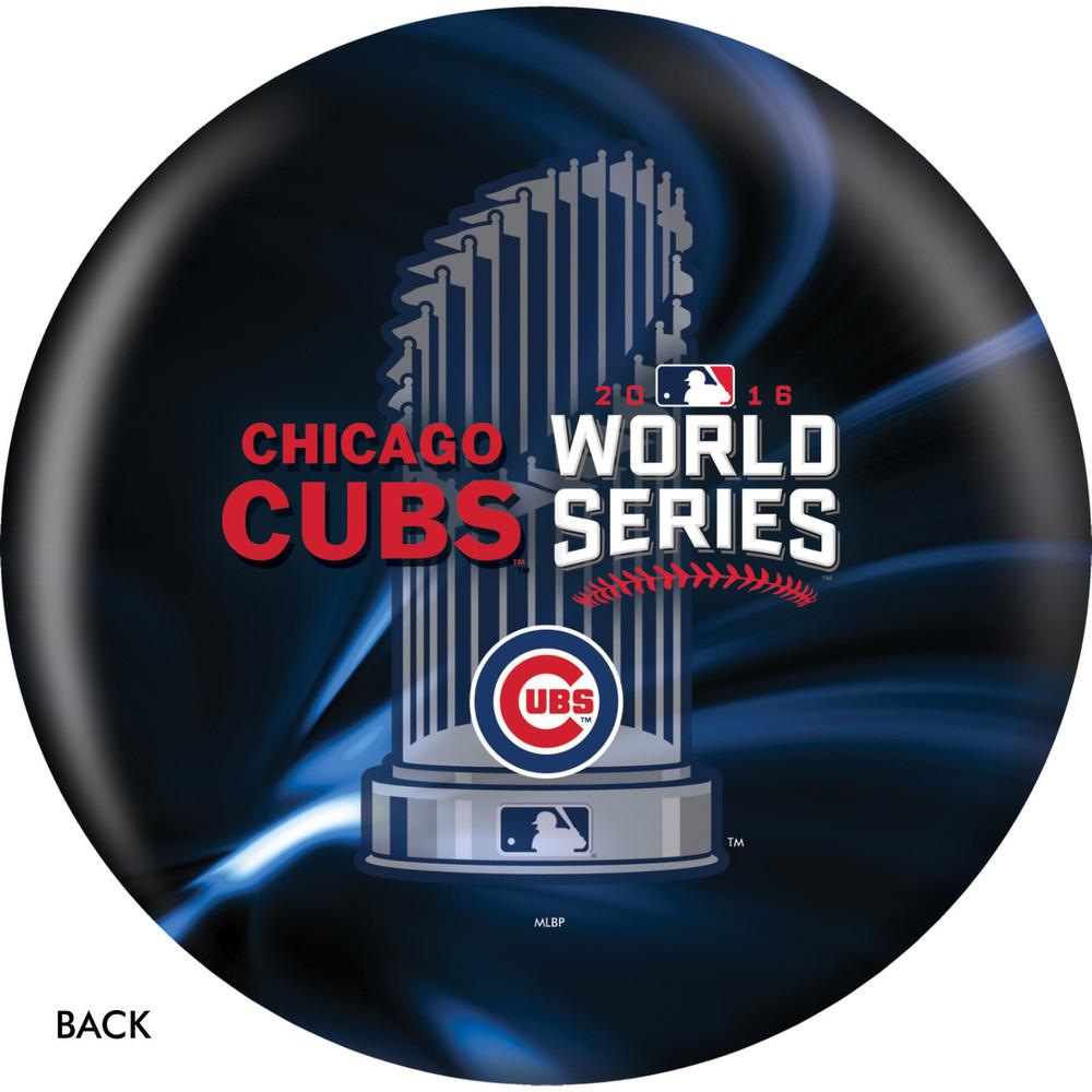 OTB MLB Bowling Ball Chicago Cubs World Series Champions