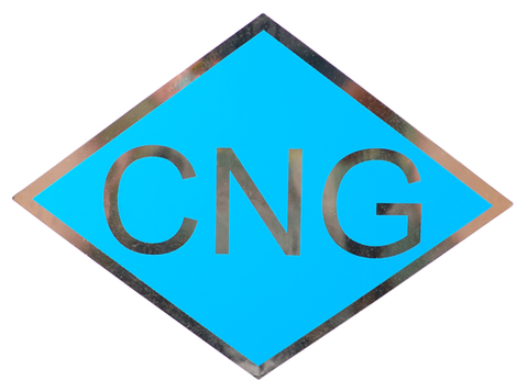 Set of 4 CNG Decals Model CNGDECAL