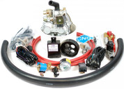 CNG Conversion Kit For 8 Cylinder Carburetor Gasoline Engines Model CNGC8