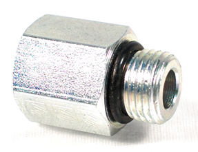 "12 mm Male x 1/4"" NPT Female Stainless Steel Adapter Model CNGSSA"