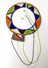 Traditional Massai Necklace From Kenya