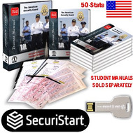 50-STATE SECURITY GUARD SCHOOL STARTER  KIT -  LECTURING VERSION